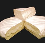 Abroad, Camembert cheese is thought of as typically French, but is specifically a Norman dairy product.