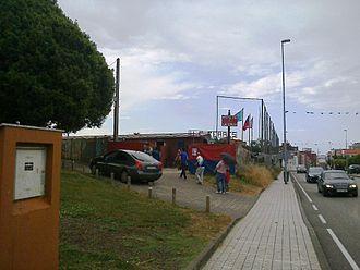 UC Ceares - Image: Campo de la Cruz entering