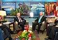 Canada's Minister of National Defense Rob Nicholson meets with U.S. Secretary of Defense Chuck Hagel at the Halifax International Security Forum.jpg