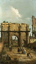 Rome, the Arch of Constantine
