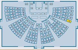 Us Senate Chamber Map Candy Desk   Wikipedia