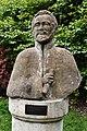 Cannizaro Park, Wimbledon, The statue of Emperor Haile Selassie.jpg