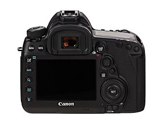 Canon EOS 5D Mark IV - Rear view