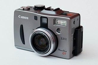 Canon PowerShot G - Image: Canon Power Shot G1