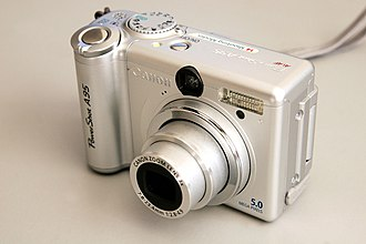 Digital photography - The Canon PowerShot A95
