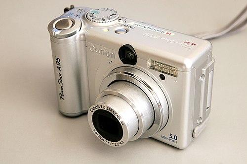 The كانون PowerShot A95