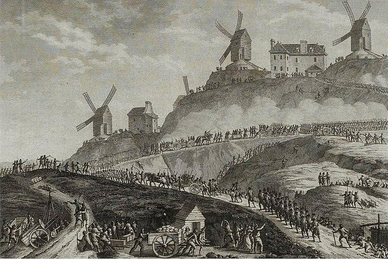 File:Canons de Paris portés à Montmartre, Musée de la Révolution française - Vizille.jpg