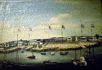 18世紀嘅一幅嶺南地區油畫