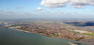 Canvey Island Human settlement in England
