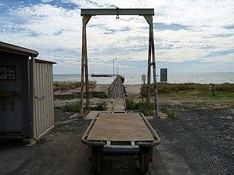 Cape Jaffa, South Australia - Image: Cape Jaffa jetty 1