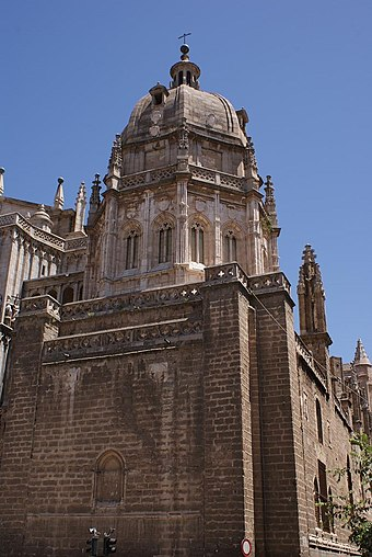 The Mozarabic Chapel (Capilla Mozarabe) in the Cathedral of Toledo Capilla Mozarabe - panoramio.jpg