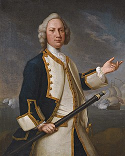 Captain Forrest RN ( - 1770) by John Vandiest (1695 - 1757).jpg