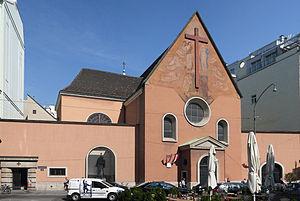 Capuchin Church, Vienna - Capuchin Church, Neuer Markt, Vienna, Austria