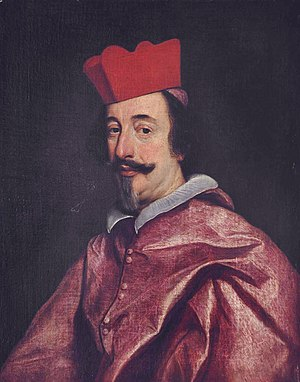 Alfonso Litta - Painting by Giovanni Battista Gaulli