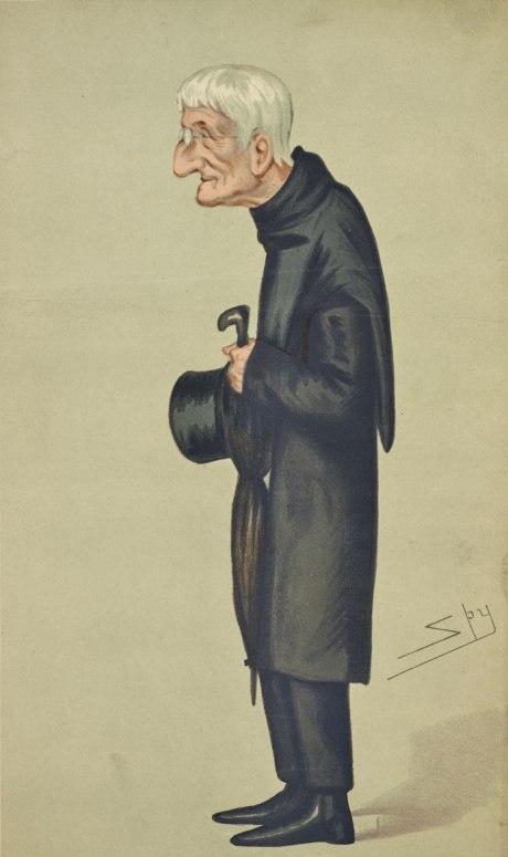 Caricature Newman