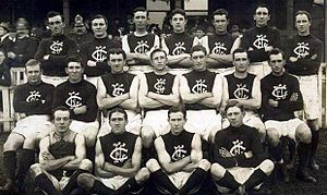 1914 VFL Grand Final - Carlton won its 4th VFL premiership.