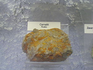 Carnallite - Carnallite from Russia