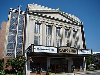 Carolina Theatre of Greensboro - Image: Carolina Theatre Greensboro NC