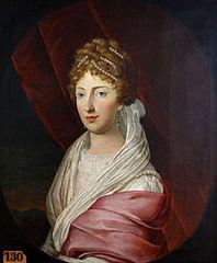 Portrait of Caroline Augusta of Bavaria