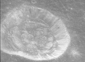 Carrel (crater) - Image: Carrel crater hrp 143b