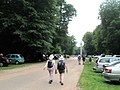 Cars everywhere on a busy weekend at the Ashridge Monument - geograph.org.uk - 1376364.jpg