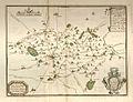 Carte de l'élection de Vire en Basse-Normandie, XVIIe siècle.jpg