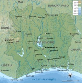 geographical map of liberia with Cavally on Climate of Turkey further Nicaragua Satellite Image besides Mm6339a4 additionally Peoples And Cultures Of Africa besides Mesh info.