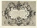 Cartouche met een citaat van Epictetus Variarum protractionum (..) (serietitel), RP-P-1888-A-12644.jpg