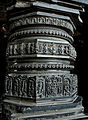 Carved pillar in Thoousand Pillar Temple.jpg