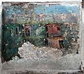 Casa dell'efebo, cortile con triclinio all'aperto e pitture con scene dell'egitto greco-romano 05.jpg