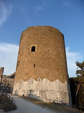 Casertavecchia - tower of castle