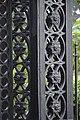 Cast Iron Gate Pillar Detail - Serampore College - Hooghly 2017-07-06 0922.JPG