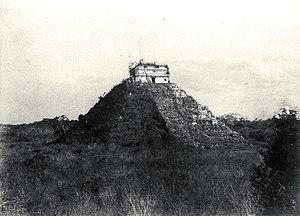 Teoberto Maler - Chichen Itza, Yucatán, México. El Castillo, 1892.