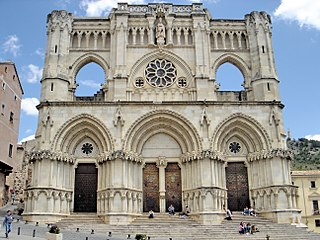 Cuenca Cathedral cultural property in Cuenca, Spain