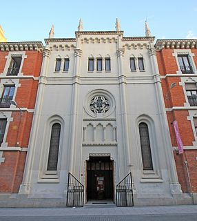 Anglican Cathedral of the Redeemer Church in Madrid, Spain