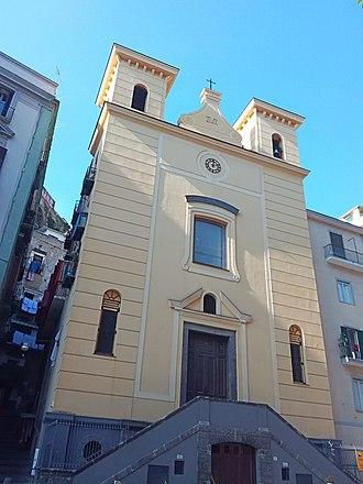 Santa Maria della Catena, Naples - Exterior.