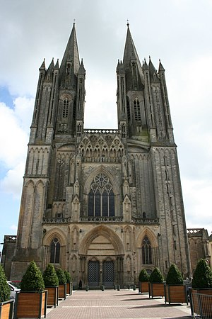 Roman Catholic Diocese of Coutances - Image: Cathédrale Coutances
