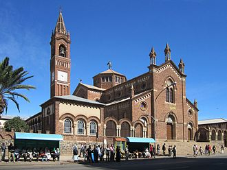 Asmara - Church of Our Lady of the Rosary, Asmara
