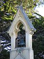 Catholic Church of the Sacred Heart of Jesus bell, Hyde, Otago, NZ.jpg