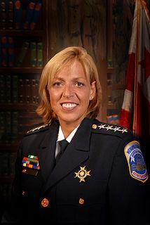 Cathy L. Lanier American police chief