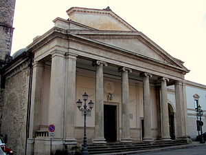 Isernia Cathedral - West front