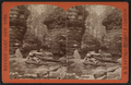 Cavern Gorge looking down, Havana Glen, by Gates, G. F. (George F.).png