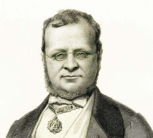 Portrait of Camillo Benso Conte di Cavour