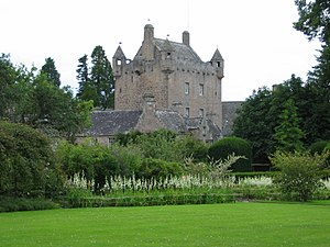 Clan Campbell of Cawdor - Image: Cawdor Castle Scotland