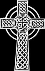 Кельтский крест с христианским