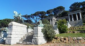 Physical Energy (sculpture) - Physical Energy at Rhodes Memorial in Cape Town, South Africa.