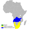 Cecropis cucullata distribution map.png
