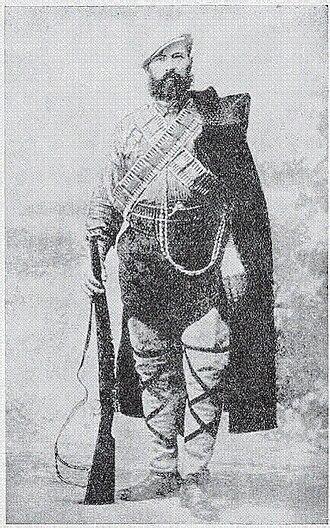 Cene Marković - Cene Marković in Chetnik gear.