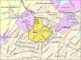 Census Bureau map of Dover, New Jersey.png