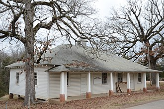 National Register of Historic Places listings in Franklin County, Arkansas - Image: Center Cross School